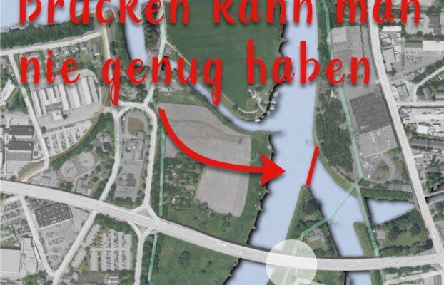 Studentenwettbewerb Kirchweg Leteln und Brücke Weserhafen